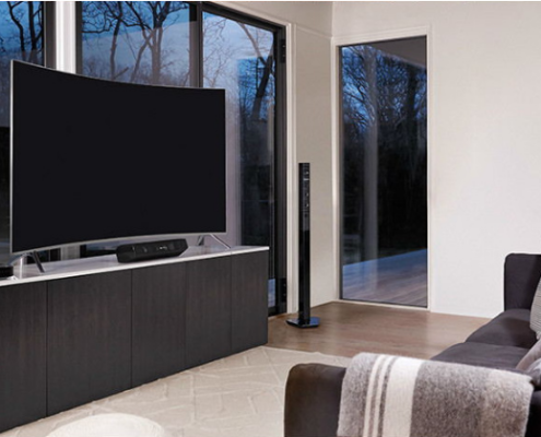 Gecey-curved lcd TV