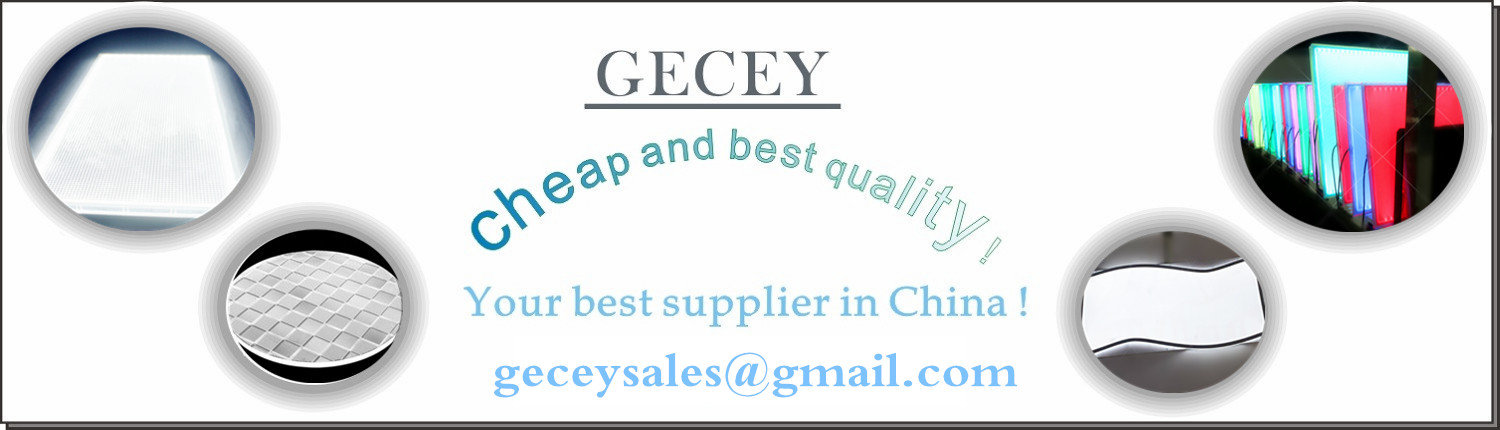 Gecey-backlight panel-home page