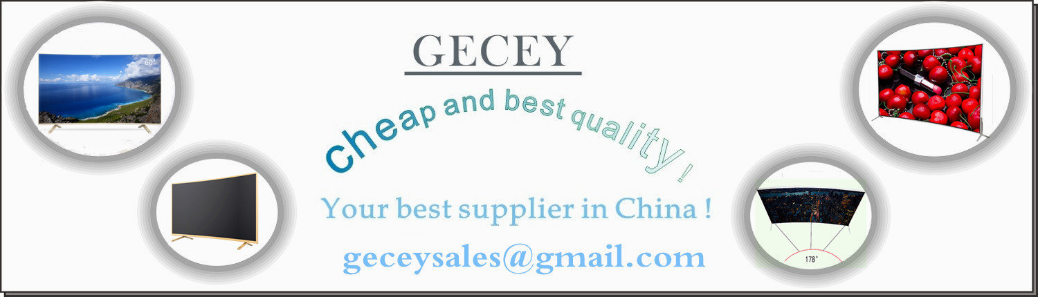 Gecey-led tv-home page